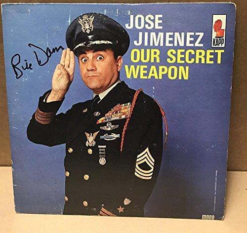 Jose Jimenez Signed By Bill Dana Deceased Signed Vinyl Lp Record W/coa