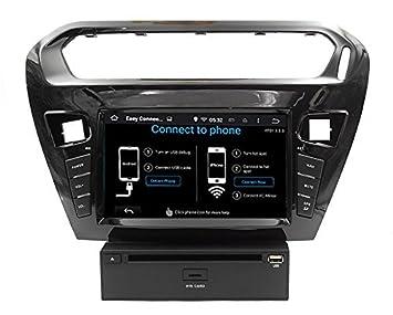 LIKECAR Android 4.4 GPS coche navegador GPS con receptor de alta ...