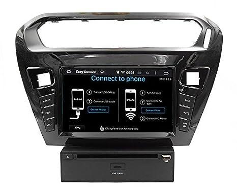 LIKECAR Android 4.4 GPS coche navegador GPS con receptor de alta definición LCD de navegación GPS