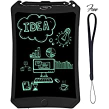 LCD Writing Tablet Pad By Eclipz: 8.5'' Electronic Drawing & Writing Board For Kids & Adults, Portable & Magnetic eWriter, Digital, Handwriting Paper Doodle Board For School, Fridge Or Office
