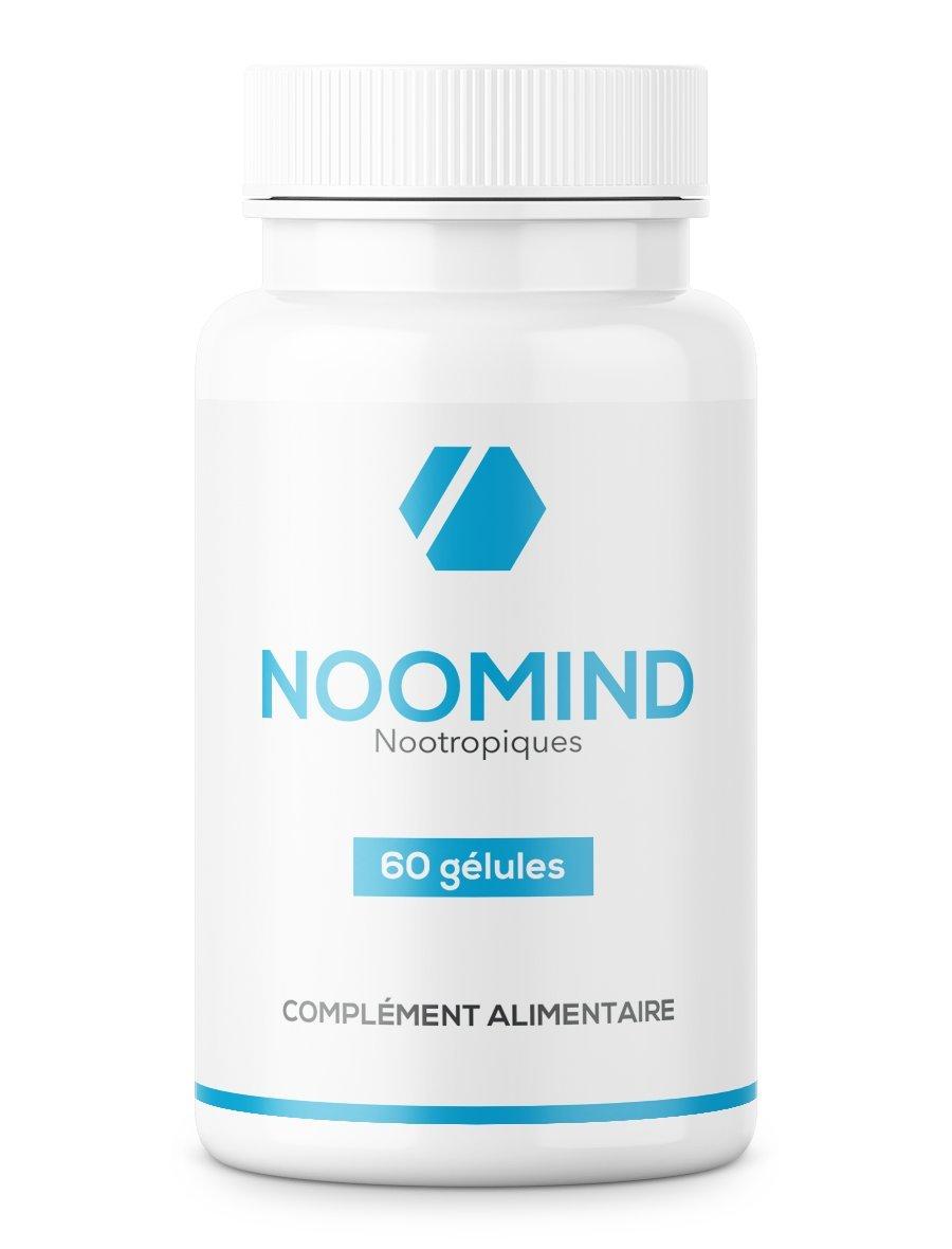 noomind | 60 Cápsulas | nootrópicos fabricado en Francia | cafeína, L-teanina, bacopa monnieri, rhodiola rosea, L-tirosina | mejora la concentración y la ...