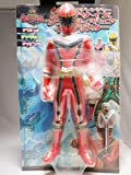Power Rangers Mystic Force Mahou Sentai Magiranger Maji red BIG Figure Banpresto