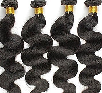 Indian Virgin Hair Body Wave 26inch Unprocessed Human Hair Weave Bundles 1pcs