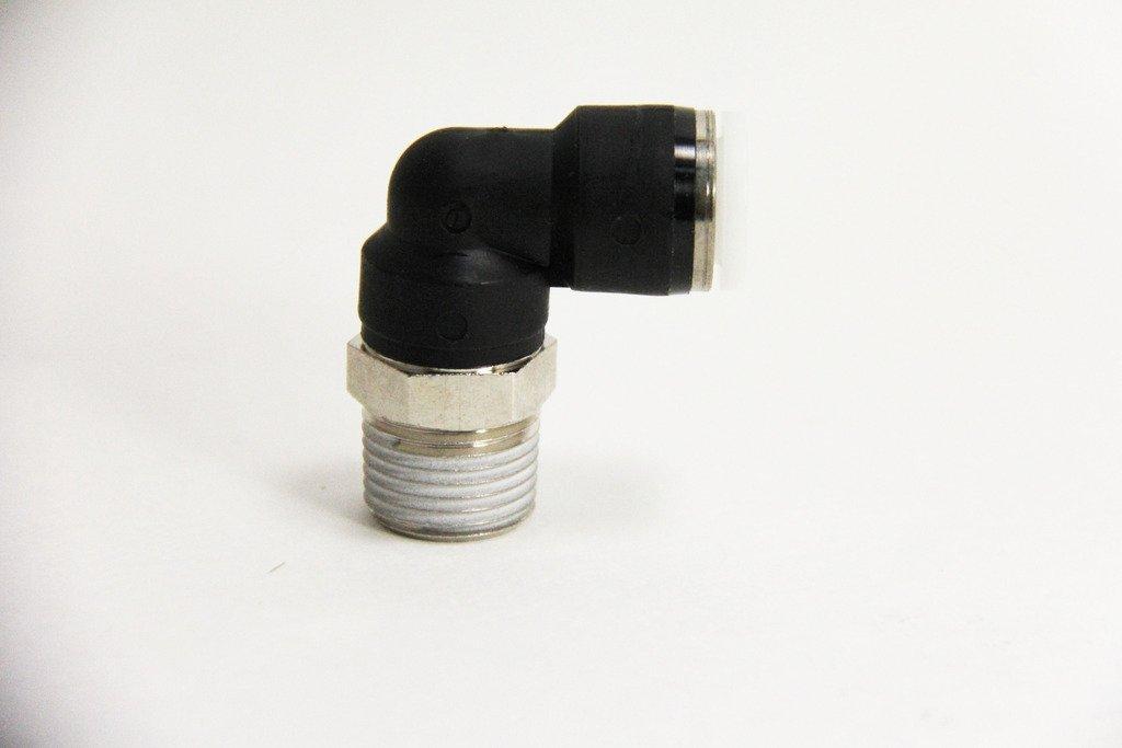 Mindman PL3//8-N3UT PISCO Fitting 1//8 thread size NPT 1//4 tube diameter straight