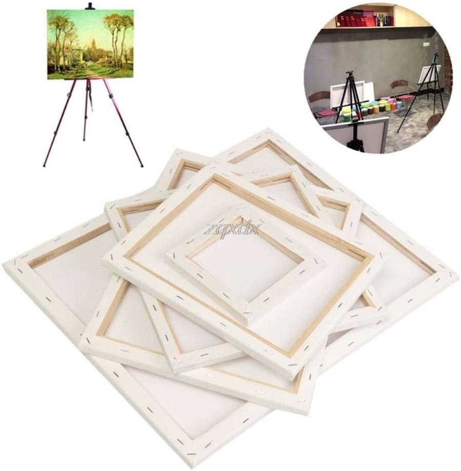 Painting Canvas Blank Cotton Canvas Panels Square Mounted Art Artist Boards Painting Tool Craft Drop Ship,1