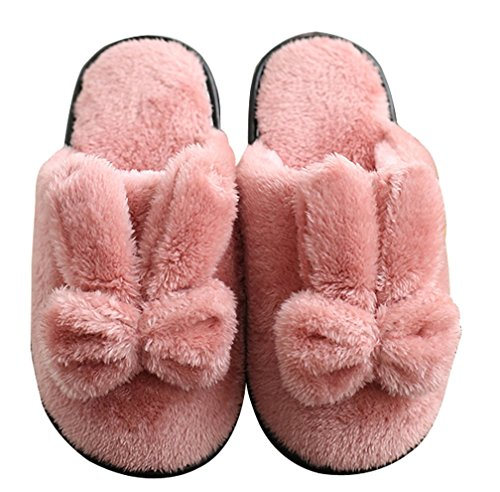 Pantofole Da Donna Cattior Womens Pantofole Calde Rosa