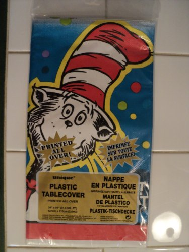 Dr Suess Cat in the Hat Table Cover]()