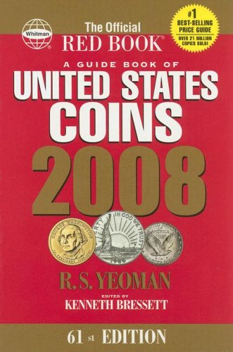 2008 Guide Book of US Coins Redbook (Guide Book of United States Coins) (Guide Book of United States Coins )