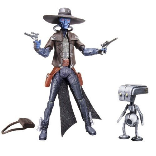 Star Wars 2011 Clone Wars Animated Action Figure CW42 Cad Bane and Todo
