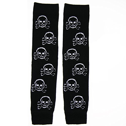 Huggalugs Boys or Girls Lil' Pirate Skull Legwarmers