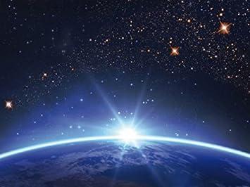 Espace Et Univers Poster Papier Peint   Ciel Étoilé sur L'Horizon