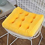Square Cushion - Non-slip Seat Pillows For Dining Room Chairs,10cm Thick Cotton-AD 2020in