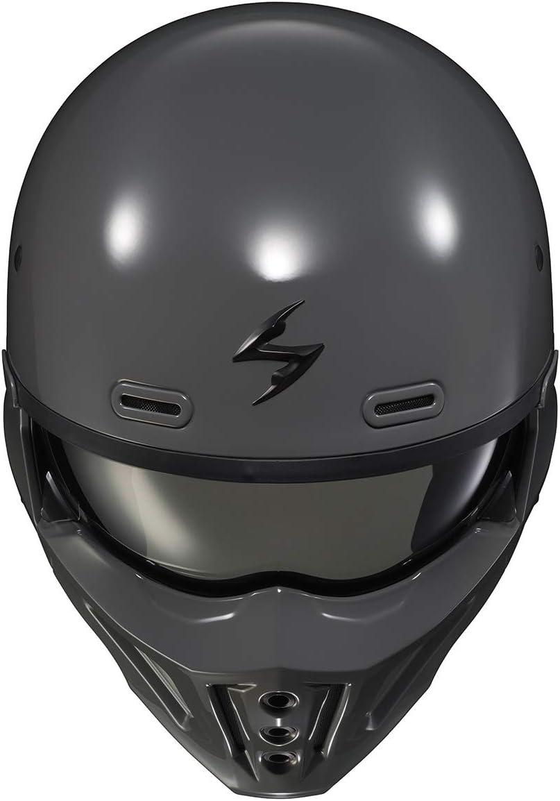 Scorpion Motorradhelm COGrun-X Matt cement grey Grau L