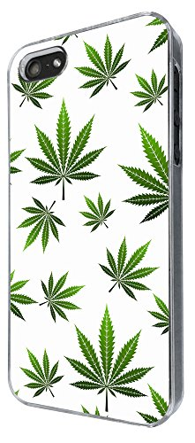 751 - Marijuana Leaf Cannabis Weed Rasta Jamaican Marley Style Design iphone 4 / 4S Hülle Fashion Trend Case Back Cover Metall und Kunststoff