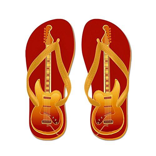 Rock Guitar - Flip Flops Funny Thong Sandals Beach Sandals