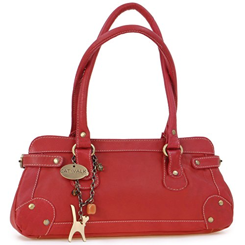 à carnaby rouge en court Catwalk manche cuir Sac Collection TFwP4Eqn