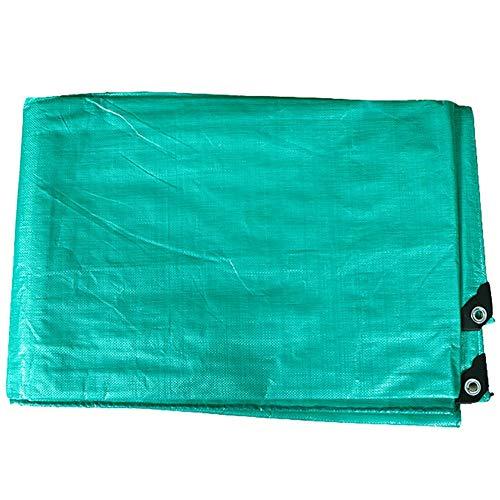 かまど幸福黙認するGUOWEI-pengbu ターポリン シェード 日焼け止め 防水 防塵の 老化防止 ポリエチレン 屋外 個人的なカスタマイズ (色 : Green, サイズ さいず : 4.8x6.8m)