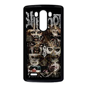 LG G3 Cell Phone Case Black Heavy Metal Band Slipknot Custom Case Cover A11A563421