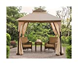 Sunjoy Replacement Canopy Set for Bardine Gazebo