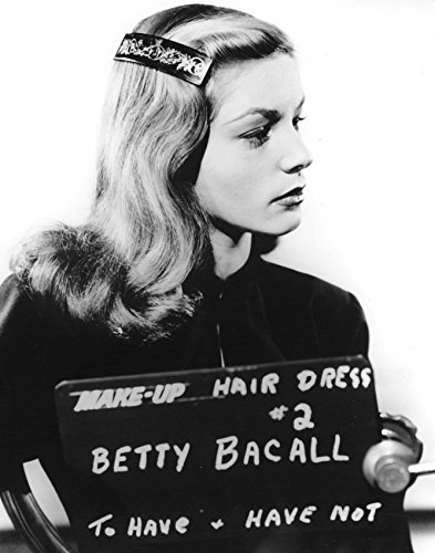 To Have And To Have Not Lauren Bacall Make Up Pose 16x20 Canvas Giclee