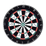 Loveiscool Double Sided Dart Board & 6 Darts Deal (Small Image)