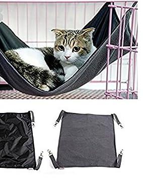 Fácil de Lavar 2 en 1 Summer Winter Cat Hammock Impermeable Oxford Tela Colgando Estera de Cama para Little Animal: Amazon.es: Productos para mascotas