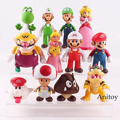 Baby Princess 14.5cm Set 3 Super Mario  Mario Baby /& LuiGi Baby