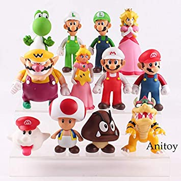 Figur Yoshi 22 cm UVP Sammlung Mario Bross