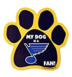 "St. Louis Blues Licensed 6"" Dog Paw Car Magnet"