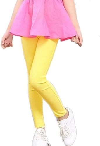 Pantalones Jeans Para Ninas Chicas Comodo Leggings Color Solido Largos Leggins Amazon Es Ropa Y Accesorios