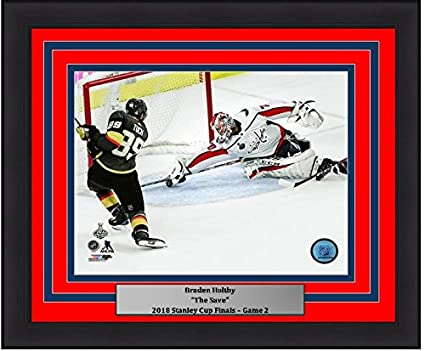 ef3b1f3fcdf Image Unavailable. Image not available for. Color  Washington Capitals 2018  Stanley Cup Finals Braden Holtby The Save 8 quot  x ...
