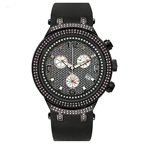 Joe Rodeo JJM90 Master Man Diamond Watch, Black Dial
