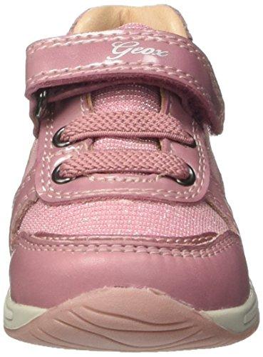 Geox B Rishon a, Zapatillas para Bebés Rosa (Dk Pink)