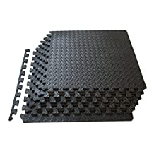 ProSource Puzzle Exercise Mat High Quality EVA Foam Interlocking Tiles