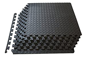 High Quality ProSource Puzzle Exercise Mat, EVA Foam Interlocking Tiles, Protective  Flooring For Gym Equipment And Cushion For Workouts