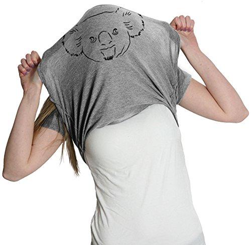 Crazy Dog TShirts - Women's Koala Bear Flip T Shirt Funny Koalas Tee Costume Shirt For Women - Camiseta Para Mujer