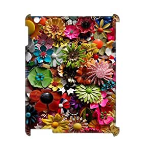 Retro Floral Flower 3D-Printed ZLB537398 Custom 3D Cover Case for Ipad 2,3,4