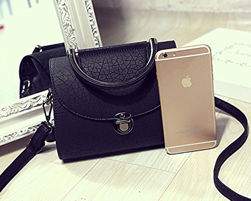 Womens Elegant Retro PU Leather Mini Crossbody Purse ...