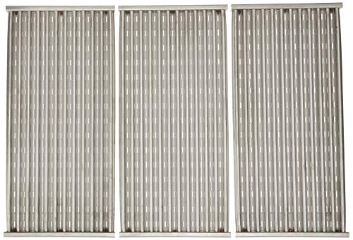 Stamped Stainless Steel Cooking Grid Replacement for Select Charbroil and Kenmore Gas Grill Models, Set of -