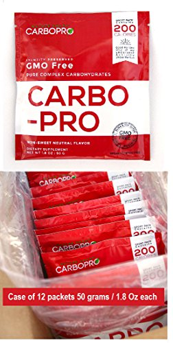 CARBO-PRO Packet 50g 12 pack For Sale