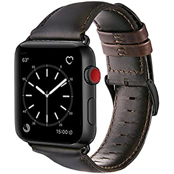 Amazon.com: Nomad Horween Leather Strap for Apple Watch