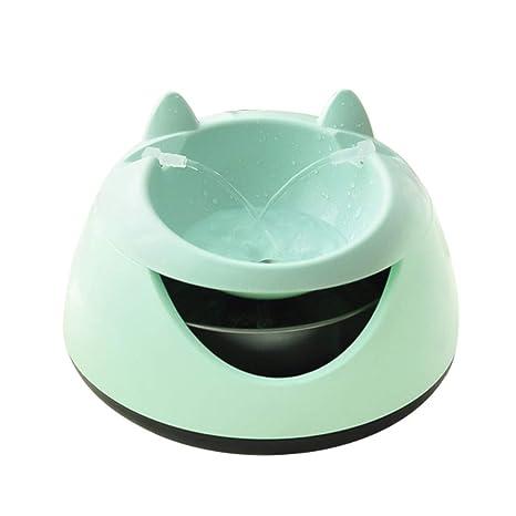 bebedero automático con Gravedad Perros Gatos,Eliminar Mal Sabor y Olor de Agua