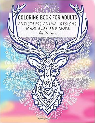 Como Descargar El Utorrent Coloring Book For Adults: Animals, Mandalas, And More Archivos PDF