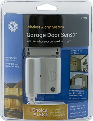 GE Choice Alert Wireless Alarm System Garage Door Sensor   Home Security  Systems   Amazon.com