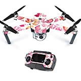 MightySkins Skin for DJI Mavic – Pink Petals | Protective, Durable, and Unique Vinyl Decal wrap Cover | Easy to Apply, Remove, and Change Styles | Made in The USA