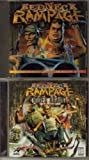 LOT OF 2- VINTAGE 1997 & 1998 REDNECK RAMPAGE & REDNECK RAMPAGE RIDES AGAIN ARKANSAS PC VIDEO GAMES