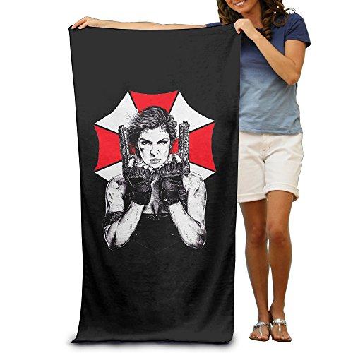 KathyB Resident Evil Funny Fiber Reactive Beach Towel For Adult