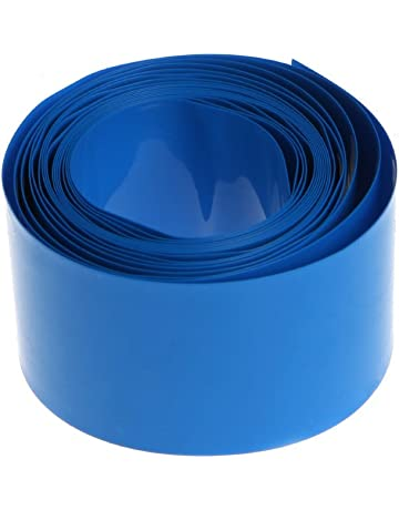 JOYKK 18.5mm 2m PVC Kit de Envoltura de Tubo de Tubo termorretráctil para 18650 18500