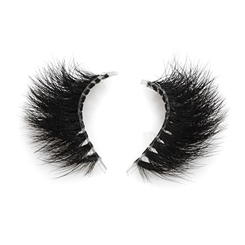 3ab18eb81a5 Invisible Transparent Band 3D Mink Fur Fake Eyelashes Women's Makeup False  Lashes Hand-made Mink Lash 1 Pair Pack(TD18)
