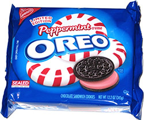 Nabisco Oreo Peppermint Creme Limited Edition 12 2oz Bag Limited Edition